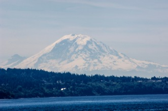Mount Ranier made an appearance!