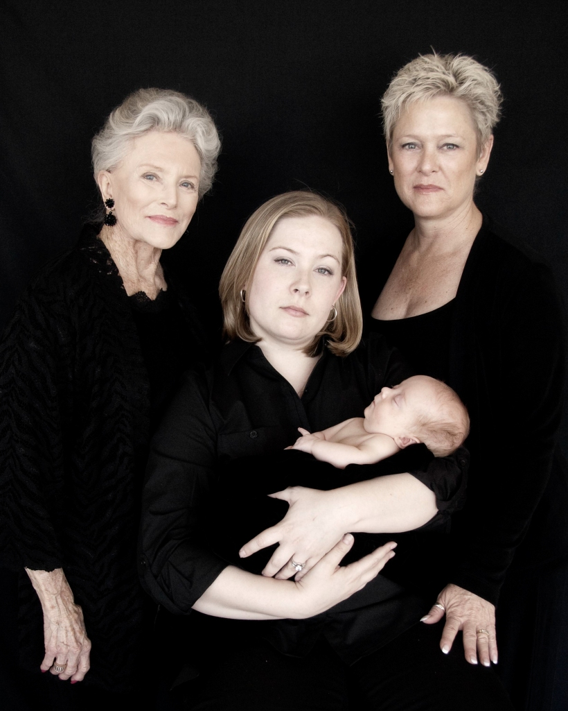 My Grandmother, my mother, my sister, and my niece. A project for a photography class I took about 5 years ago.